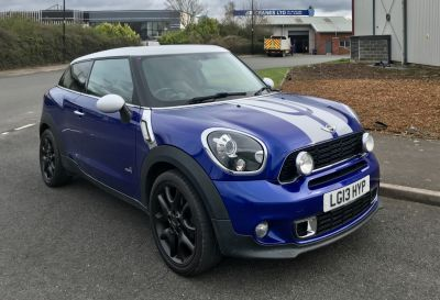 Mini Paceman 1.6 Cooper S ALL4 3dr Coupe Petrol BlueMini Paceman 1.6 Cooper S ALL4 3dr Coupe Petrol Blue at CC Motor Sales Sheffield
