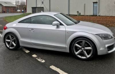Audi TT 2.0 TDI Quattro S Line 2dr Coupe Diesel SilverAudi TT 2.0 TDI Quattro S Line 2dr Coupe Diesel Silver at CC Motor Sales Sheffield
