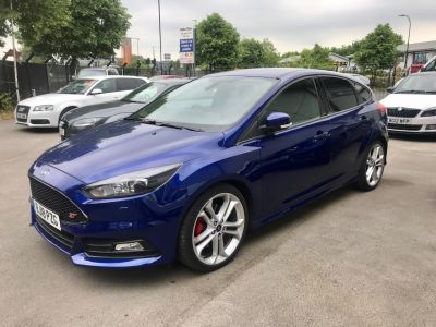 Ford Focus 2.0 FOCUS ST-3 TDCI Hatchback Diesel BlueFord Focus 2.0 FOCUS ST-3 TDCI Hatchback Diesel Blue at CC Motor Sales Sheffield