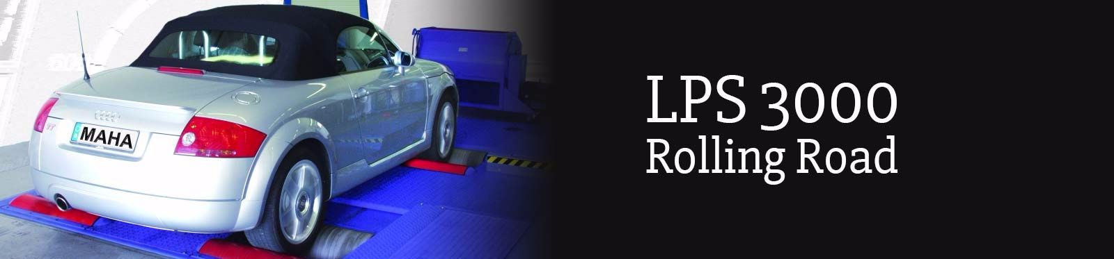 LPS 3000 Rolling Road at CC Motors
